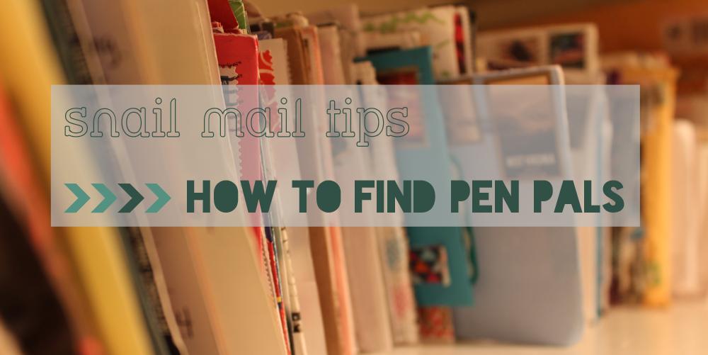 Finding a pen pal
