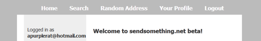 sendsomething