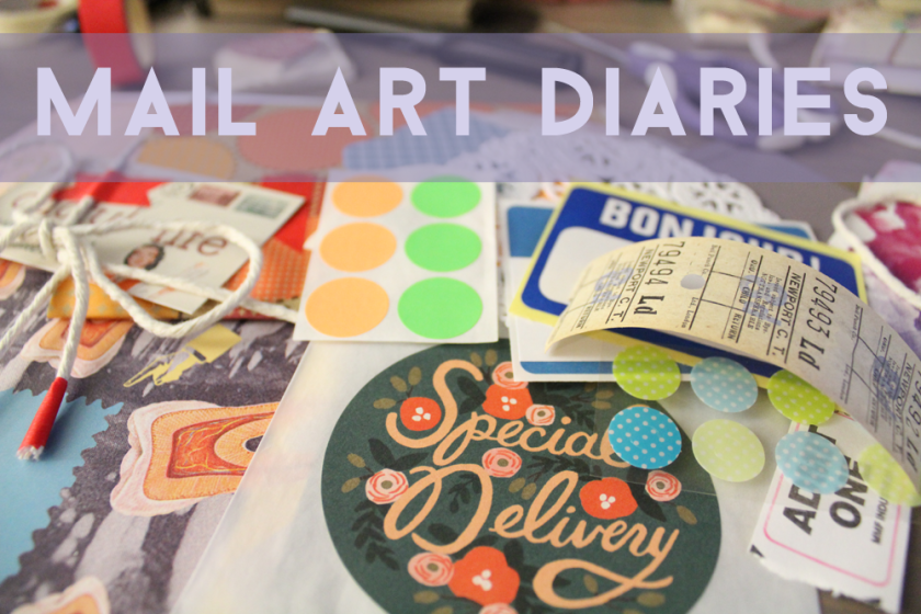 7 - Mail Art Diaries - Monday